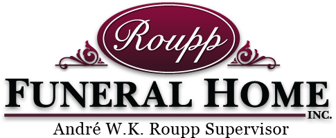 Roupp Funeral Home, Inc., Andre